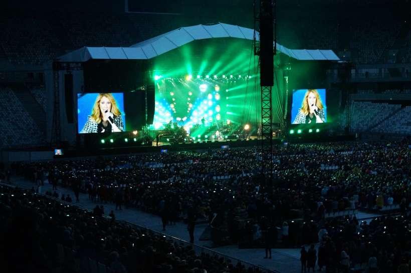 Céline dion au stade Matmut Atlantique
